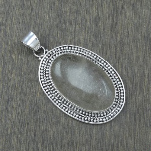 Very Small Black Onyx Rainbow Moonstone 925 Sterling Silver Necklace