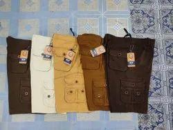 Plain Cargo Six Pocket, Size: 28-34