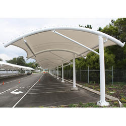 Pyramid Dome Pvc Stainless Steel High Quality Car Park Shades Rs