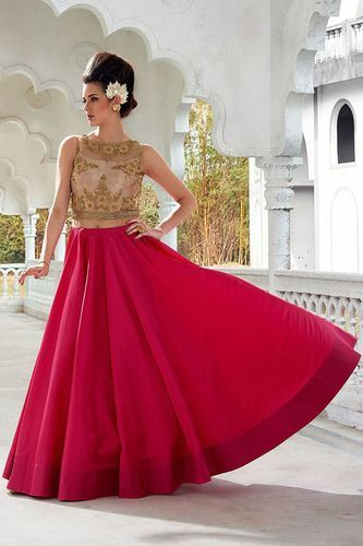 868dcc535ea Designer Heavy Partywear Gown at Rs 1820  piece