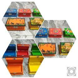 Wooden Handpainted Boxes