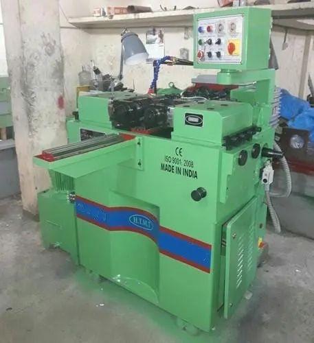 Semi Automatic Thread Rolling Machine