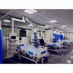 Tandem Pendant ICU Unit