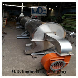 M.D Rotary Dryer, Capacity: 100 to 50000kg/hr