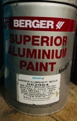 Berger Superior Aluminium Paint  - Industrial Paint