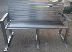 Public Place Seating Chair Of Stainless Steel