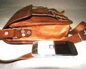 Cross Body Leather Satchel Bag