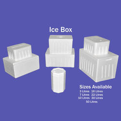Rhyno Thermopack White Ice Box, For Packaging, Capacity: 50 Litres