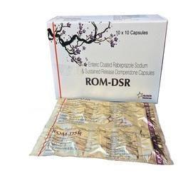 Rabeprazole and Domperidone Sustained Release Capsule