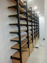 Garment Display Rack For Wooden