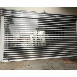 Full Height Automatic Transparent Rolling Shutter