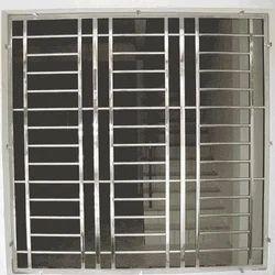 Aluminum Polished Window Grill