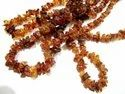 Natural Dark Citrine Uncut Free Shape Chip Beads 6to8mm Strand 34inch Long