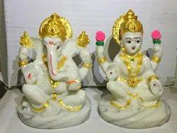 resine Shashiarts Laxmi Ganesh Statue