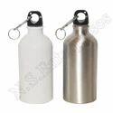 Aluminium White And Silver 500ml Single Sipper