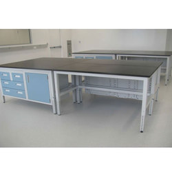 Laboratory Table with Cabinet