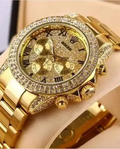 Rolex Diamond Watches Size 38mm Rs 2999 Piece My Fashion Time Id 20723307491