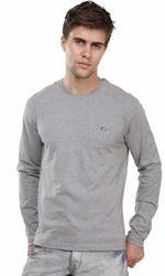 Jockey Grey Melange Long Sleeved T-Shirt