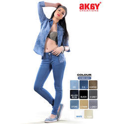 ICE And STONE DENIM LYCRA Women Slim Fit Jeans