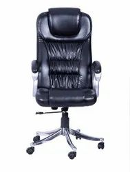 Leatherette High Back Chair