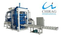 Semi-Automatic Hydraulic Brick Making Machine