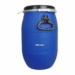 Blue HDPE 25 Ltr Used Open Top Drum