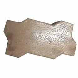 Zig Zag Interlocking Paver Block, Thickness: 60 to 80mm