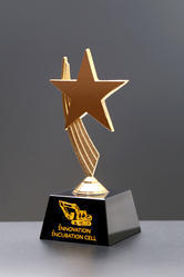 star crystal award trophy