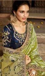 Kessi Parneeta Heavy Banarasi Silk Jacquard Full Saree Catalog Collection