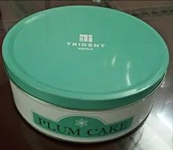 Plum Cake Tin Container