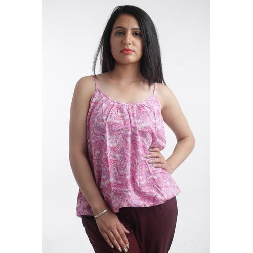 lace up in strong packing how to buy Ladies Sleeveless Cotton Tops