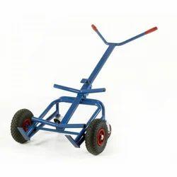 Steel Drum Trolley, For Industrial, Capacity: 300 Kg