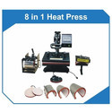 8 In1 Combo  Heat Press Sublimation Machine
