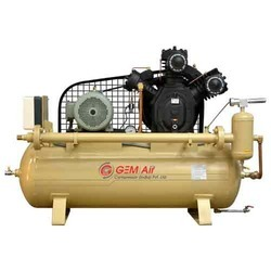 20 HP 1 HP Belt Driven Air Compressor, Model Number/Name: 20th2, Maximum Flow Rate (cfm): 54