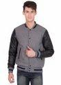 Grey Black Varsity Jacket