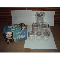 Transparent Water Glass Set