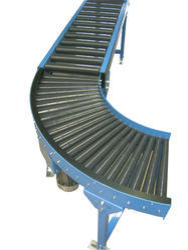 90 Deg Roller Conveyor