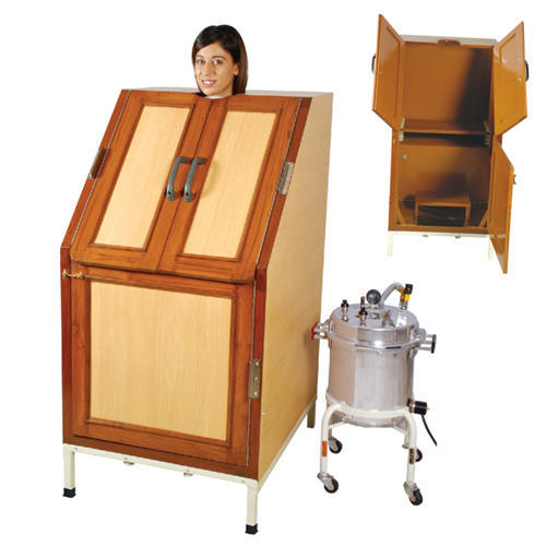 Awesome Steam Cabinet With Steam Generator (Sitting Type )