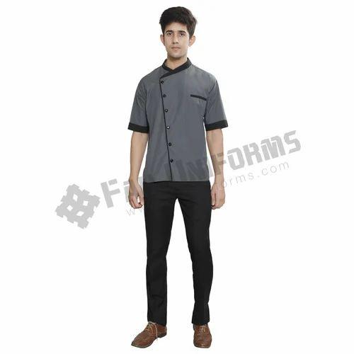 Cotton shirts tops spa men uniform rs 340 shirt for Spa uniform cotton