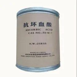 Food Grade Vitamin C Powder L Ascorbic Acid, 25 Kg