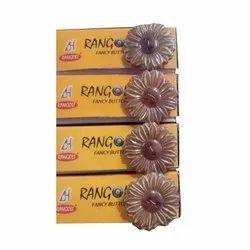 Rangoli Plastic Designer Coat Button, Packaging Type: Box