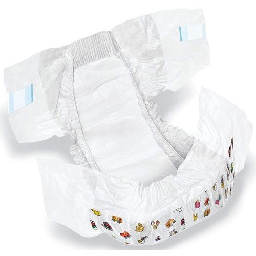 Small Printed Cotton Baby Diaper, Age Group: Newly Born-2 Years