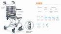 NANUK Compact Aluminium Wheelchair