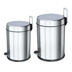 Stainless Steel Pedal Operated Dustbin