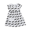 Printed Baby Dress with Pocket