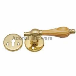 Corinthians Brass Handle With Rose