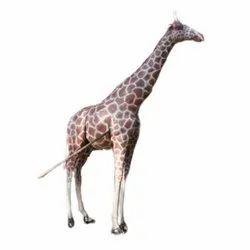 Fiber Giraffe Statue, Size: 16 Feet