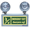 X-Lite Industrial Emergency Light with Exit Sign