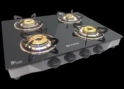 FABER Hob Cooktop Jumbo 4BB SS, Size: 63.5cm