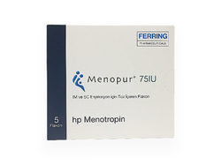 Menopur 75 IU Injection